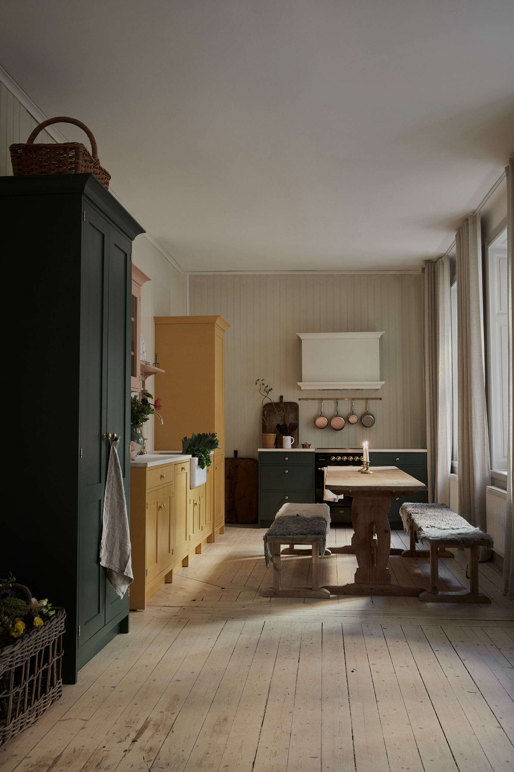 Kitchen of the Week: A Pastel Kitchen Inspired by Swedish Artist Carl Larsson - Remodelista