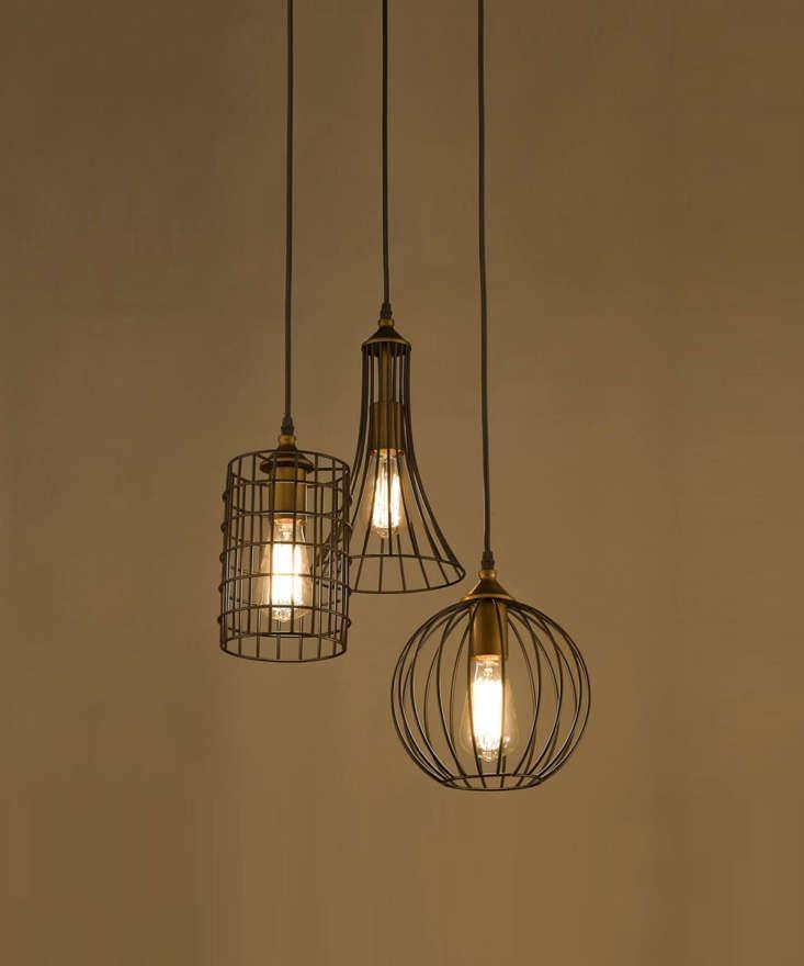Claxy Three-Light Hanging Pendant Chandelier