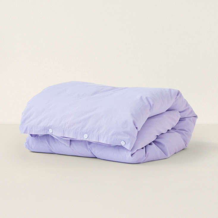 duvet cover in lavender from goodee 17