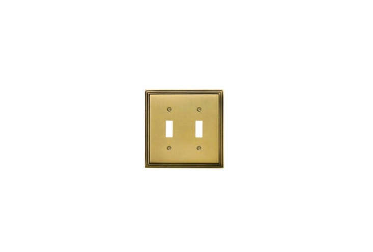House of Antique Hardware's Mid-Century Switch Plate