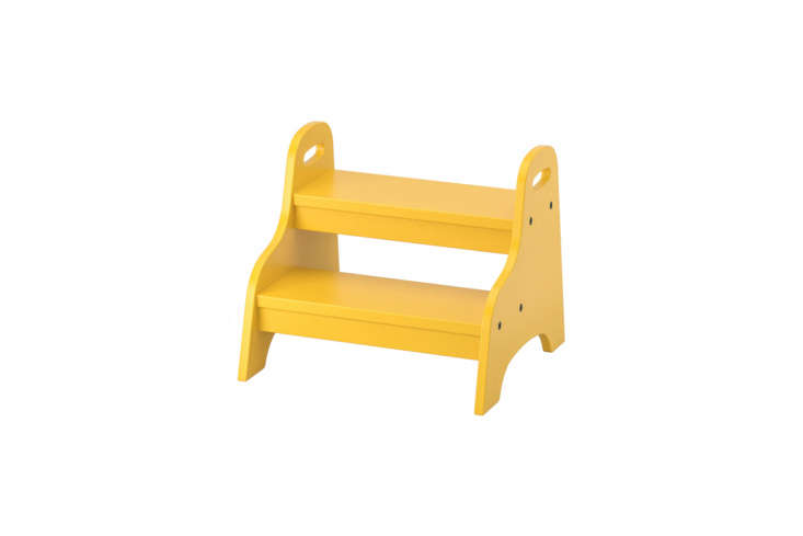 ikea&#8\2\17;s trogen child&#8\2\17;s step stool in yellow is \$\19. 13