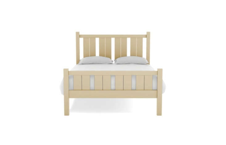 The Shutter Bed, shown in Ivory, starts at $loading=