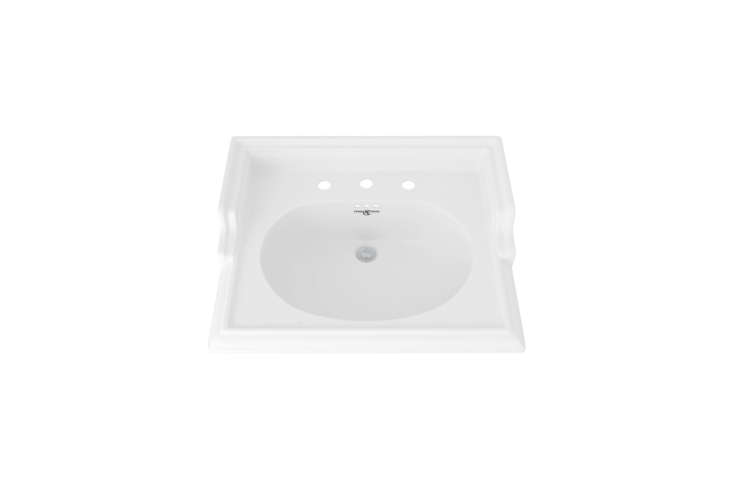 The Rohl Perrin & Rowe -Inch Victorian Basin in white is $859.50 at Decor Globe.