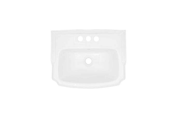 The Halden Porcelain Wall-Mount Bathroom Sink is $9 at Signature Hardware.