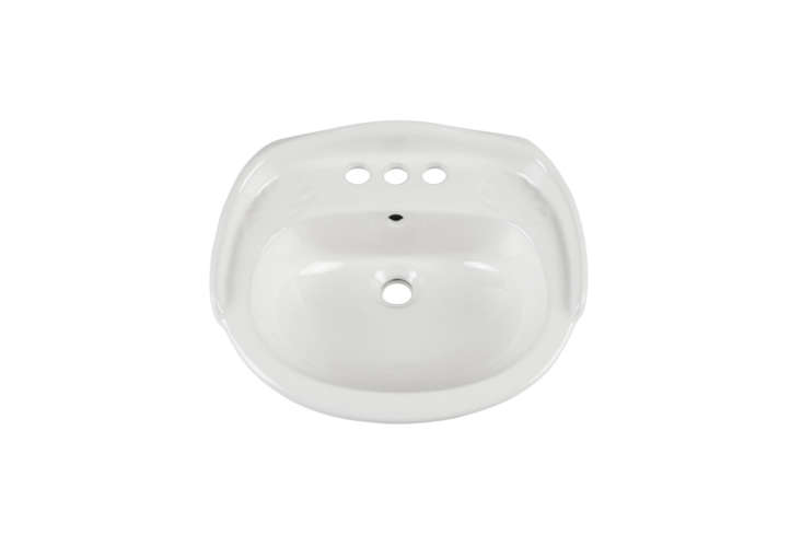 The Victorian Mini Porcelain Wall-Mount Sink is $9 at Signature Hardware.