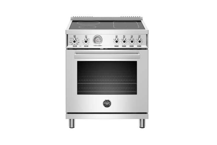 the bertazzoni 30 inch freestanding induction range (prof304inmxe) is \$3,398 a 9