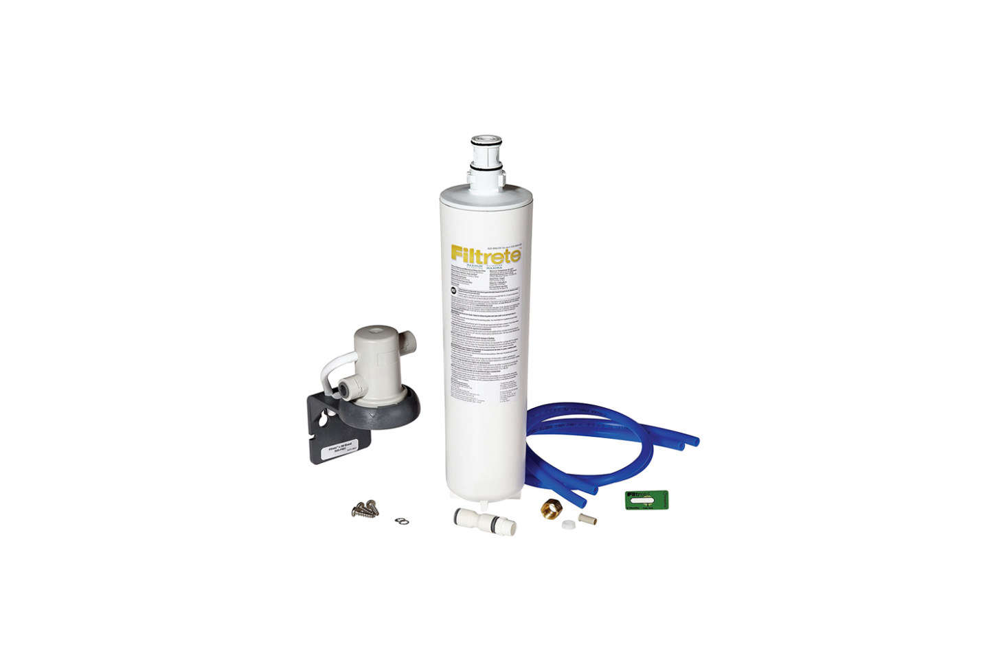 The Filtrete Maximum Under Sink Water Filtration System is a super-budget option for under $50 with still fairly decent filtration, though not as intensive as the others on this list. A great DIY option for those living in areas with high quality water, the filter reduces lead, microbes, chlorine taste and order, and 0.5 microns of TDS. Working with a single filter, the system is available with standard, advanced, or maximum (shown) filter options; $48.33 at Amazon.