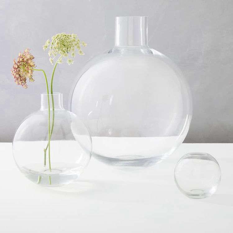 The medium Foundation Glass Vase is $4