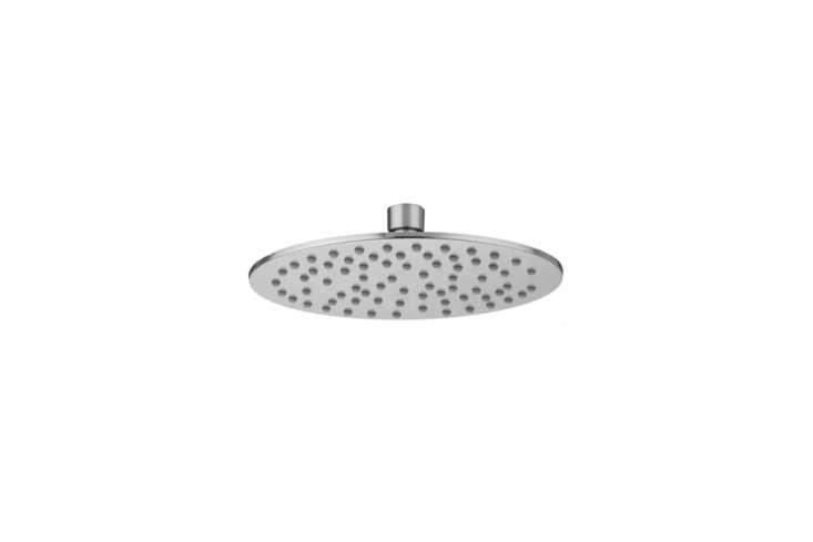 The simple Jaclo Rain Machine Rain Shower Head (S408XV) is $6. at Quality Bath.