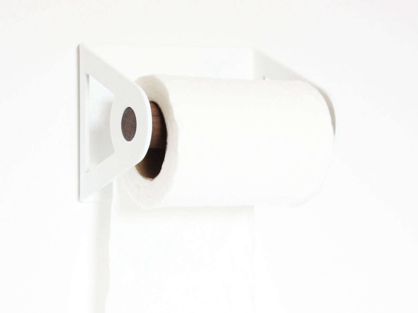 Petrified Design of Austin, Texas, makes its Toilet Paper Holder, $50, in src=