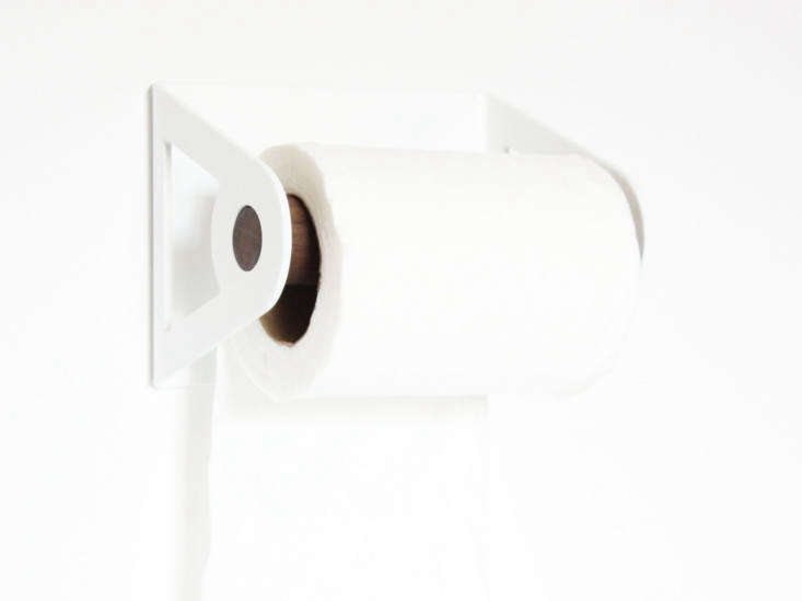 Petrified Design of Austin, Texas, makes its Toilet Paper Holder, $50, in loading=