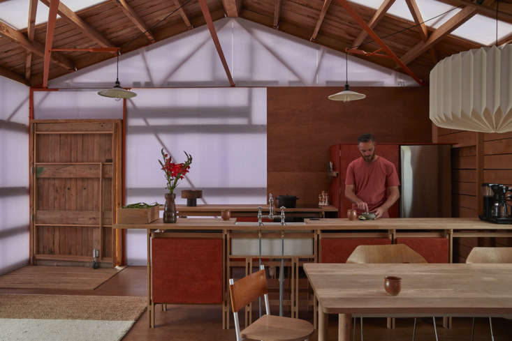 the approximately 860 square foot interior was initially &#8\2\20;one big v 11