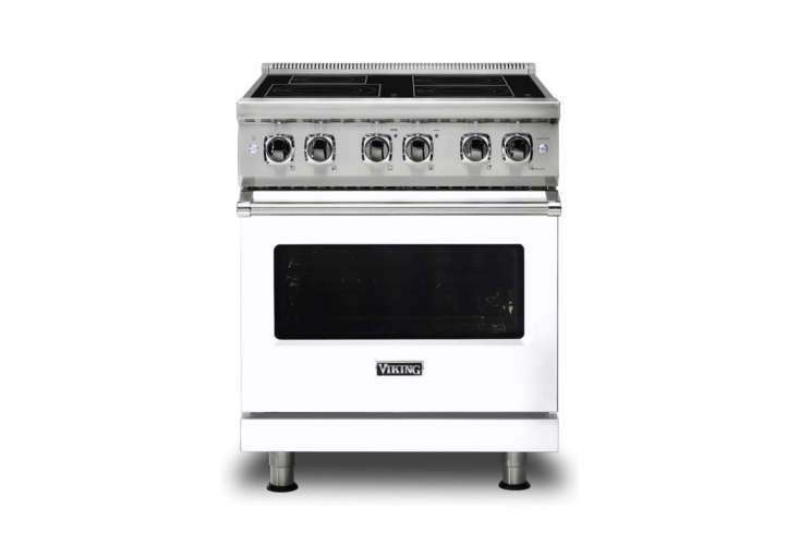 the viking 30 inch induction self clean range (vir5304bwh) is \$8,039 at design 15