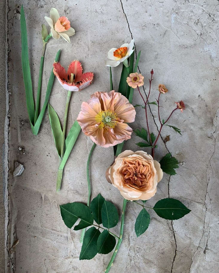 Ann Wood of Minneapolis-based Woodlucker is directly inspired by historical botanical prints. in her work. She manipulates paper and wire, using drawing and cutting with sharp embroidery scissors. Contact Woodlucker directly for more info.