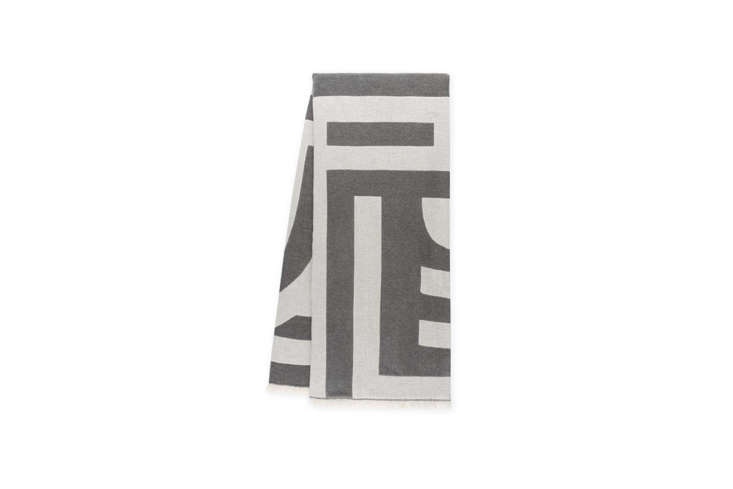 And the Deco Throw ($5, currently on sale for $5), inspired by bold Art Deco geometries.