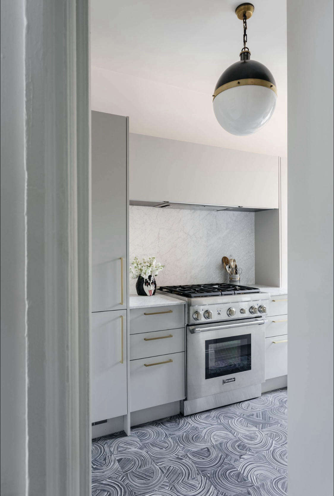 The client is an avid cook and requested a gut renovation for the kitchen. It turned out to be Delia&#8