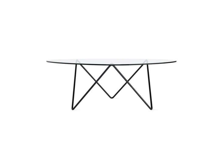 10 Easy Pieces Modern Glass Coffee Tables The Pedrera Coffee Table designed by Barba Corsini for Gubi is \$985.\15 at Finnish Design Shop.