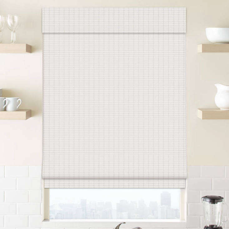From Select Blinds, the Premier Modern Natural Wood Shades are top down bottom up shades in wood that come in natural as well as painted white shades; $loading=