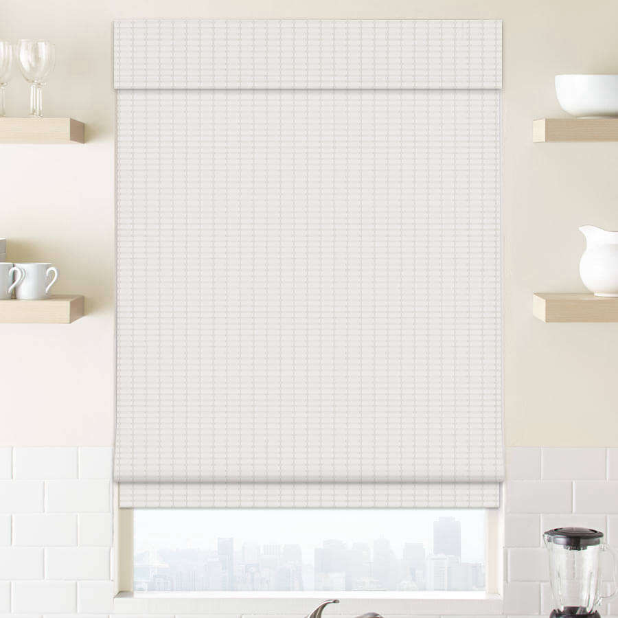 From Select Blinds, the Premier Modern Natural Wood Shades are top down bottom up shades in wood that come in natural as well as painted white shades; $src=
