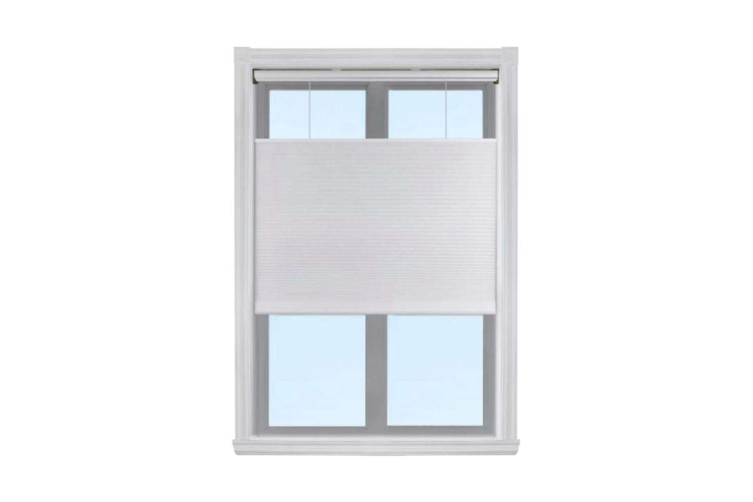 The Top Down Bottom Up Semi-Sheer White Cellular Shade from Symple Stuff starts at $47.99 at Wayfair.