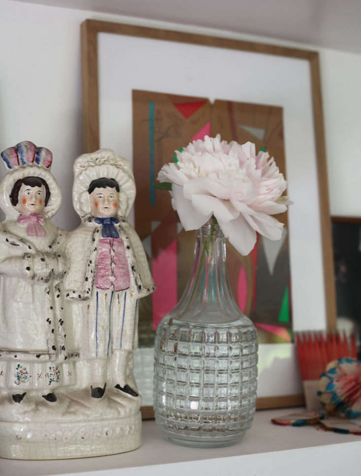 Staffordshire figures of Darby and Joan—the names are synonymous in the UK for a devoted old couple.