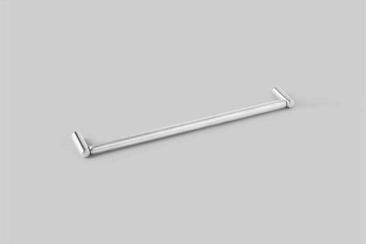 10 Easy Pieces Natural Steel Towel Bars The D Line Pebble Towel Rail (\1\280\100\200\1) is designed by Bjarke Ingels Group in satin stainless steel. Contact D Line for closest stockist.