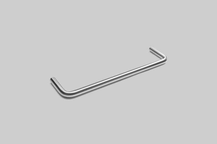 10 Easy Pieces Natural Steel Towel Bars The D Line Towel Rail (\16705\20\1653) from the Knud Holscher line comes in polished stainless steel. Contact D Line for closest stockist.