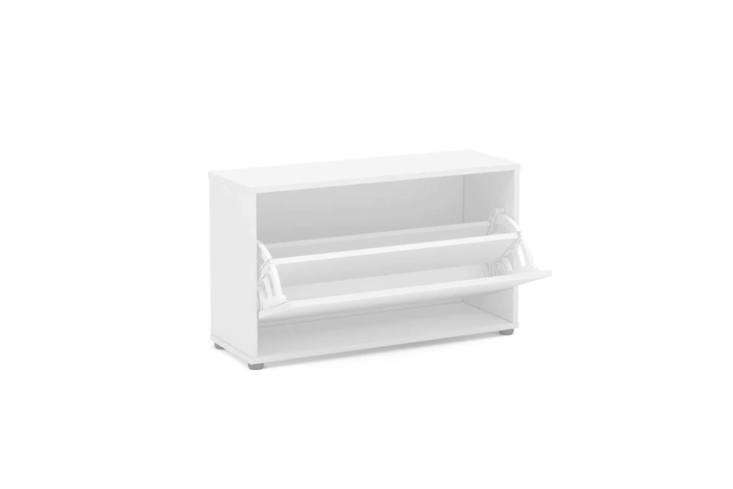 The Dotted Line 8 Pair Shoe Storage Cabinet in white is $8