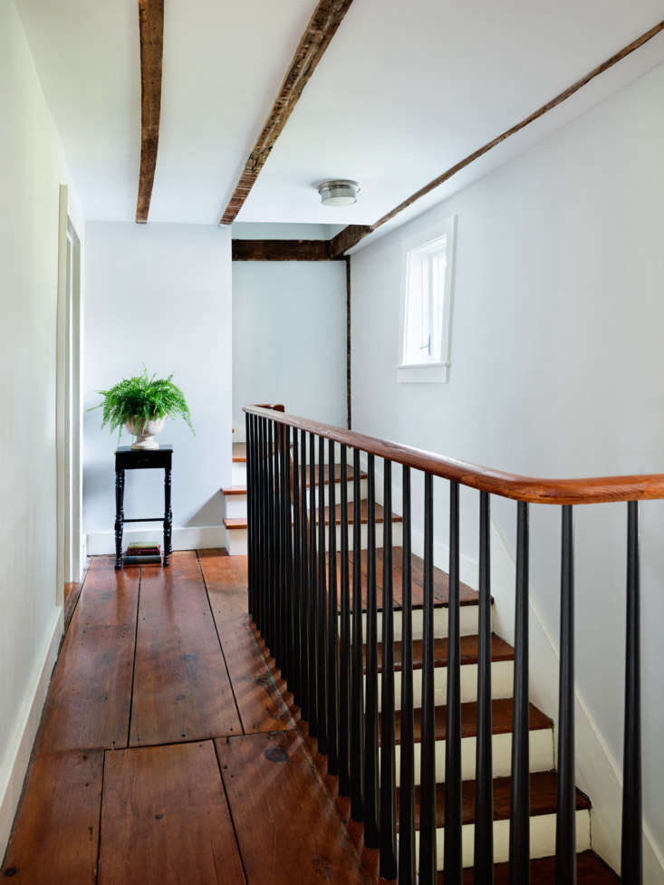the house retains its original stair (with a new railing in place of a sheetroc 18