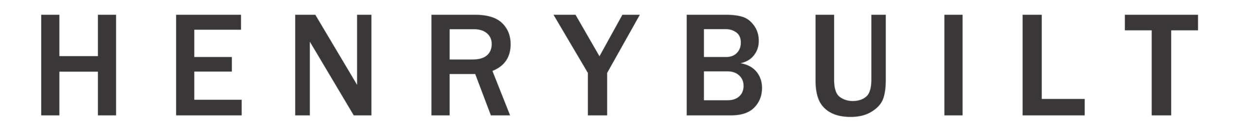 Henrybuilt Logo long