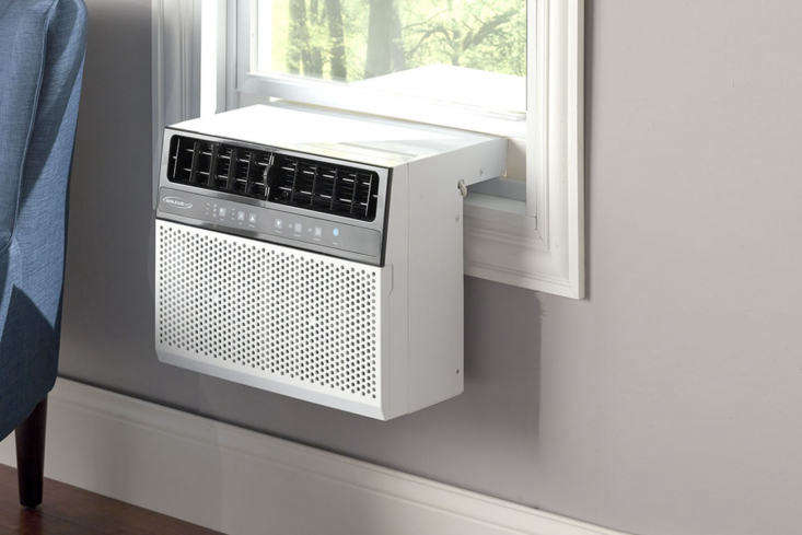 The Over the Sill Profile Air Conditioner is $499.95 at Hammacher Schlemmer.