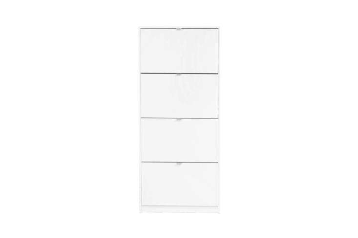 From Scandinavian Designs Furniture, the Gren 4-Door Shoe Cabinet comes in black or white for $9.
