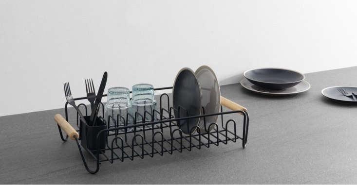 combe black wire dish drainer