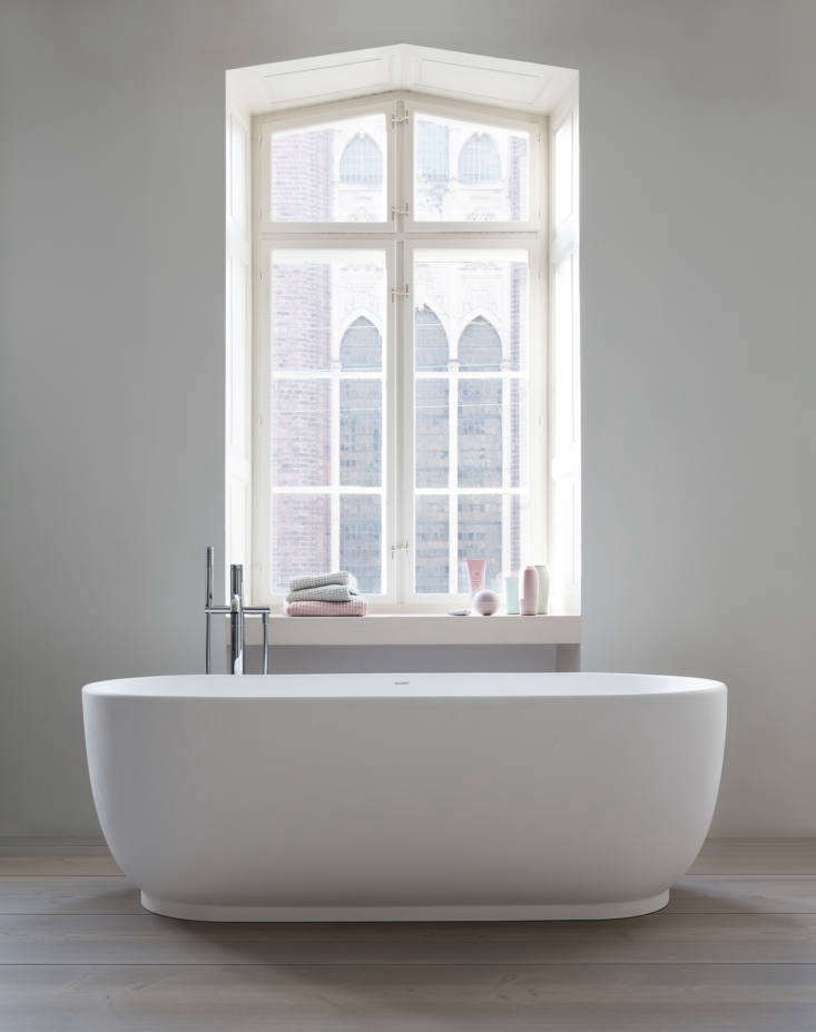 Currently Coveting Cecilie Manzs NordicSerene Bathroom Sinks and Tubs for Duravit The staged designs remind us of the hushed domestic scenes by the great Danish painter Vilhelm Hammershoi (see A Kitchen Inspired By a Painting). The Luv collection is widely available; find more information at Duravit.