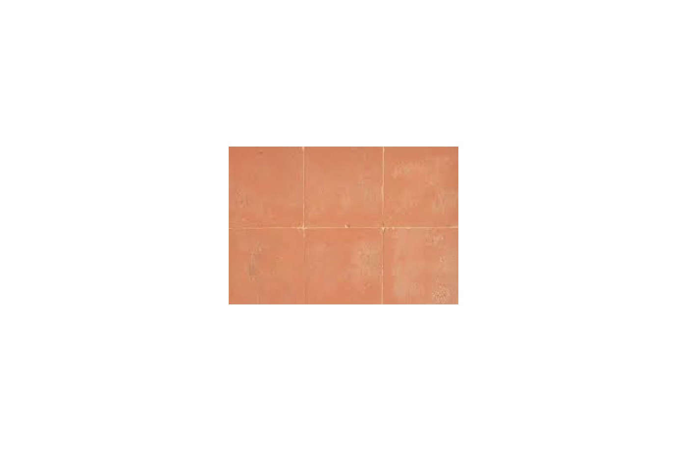 The tiles throughout the room are Italian terracotta tiles from Fornace Brioni.
