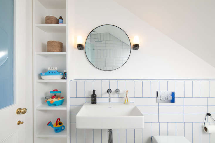 Fun tiles from BluePrint Ceramics in the thoroughly modern children&#8