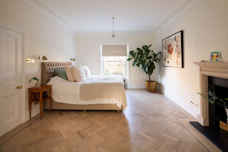 on the second floor are the main bedroom,  d here, ensuite bath, a guest room,  17