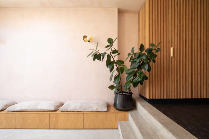 &#8\2\20;the internal spaces were to feel textured, calm, and lived in; as  21