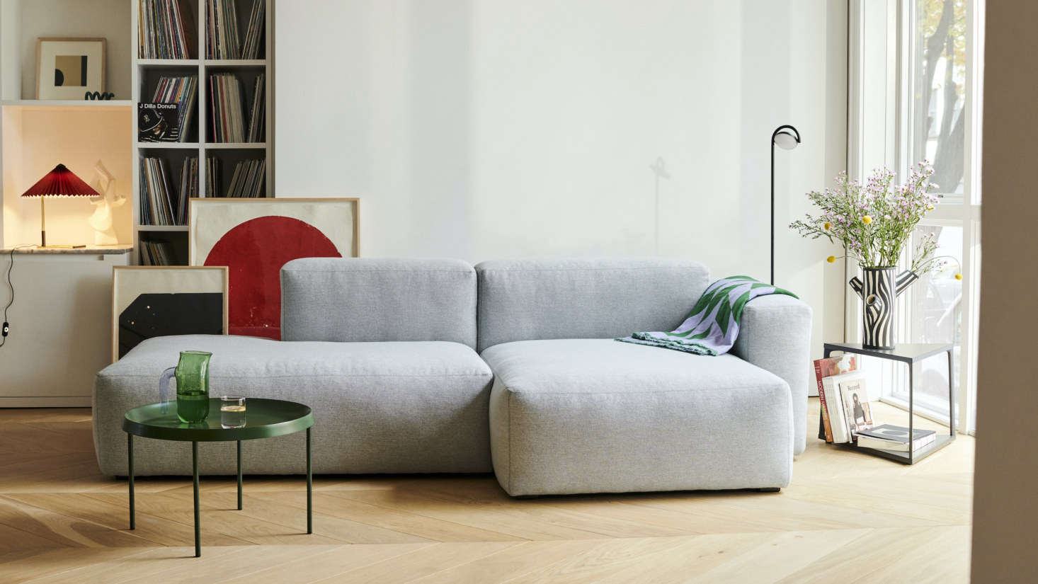 First up: the Mags Sofa (this one is the Mags Soft Low Sectional with Chaise, $