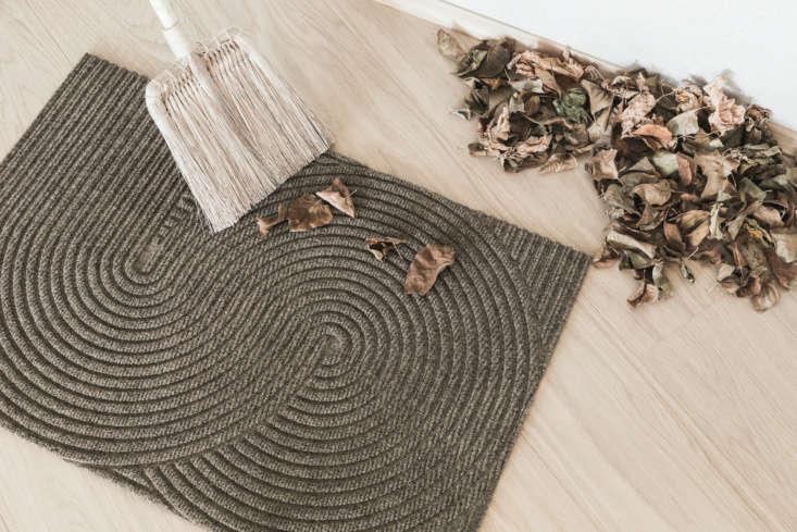 the sand outdoor entry doormat—the zen design we admired in the shepherd& 11