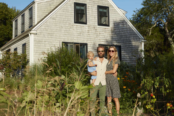 Summer Sounds A Pair of Musicians Effortlessly Cool Redone Cape in Westerly RI Available on Airbnb &#8\2\20;Neither of us had been in one place for more than a couple months for much of the last decade,&#8\2\2\1; says Sean, &#8\2\20;so becoming parents and being here working on this house in Westerly without leaving more than a few times in the last year is something we are really proud of.&#8\2\2\1; Here, Sol, Sean, and My in the garden.