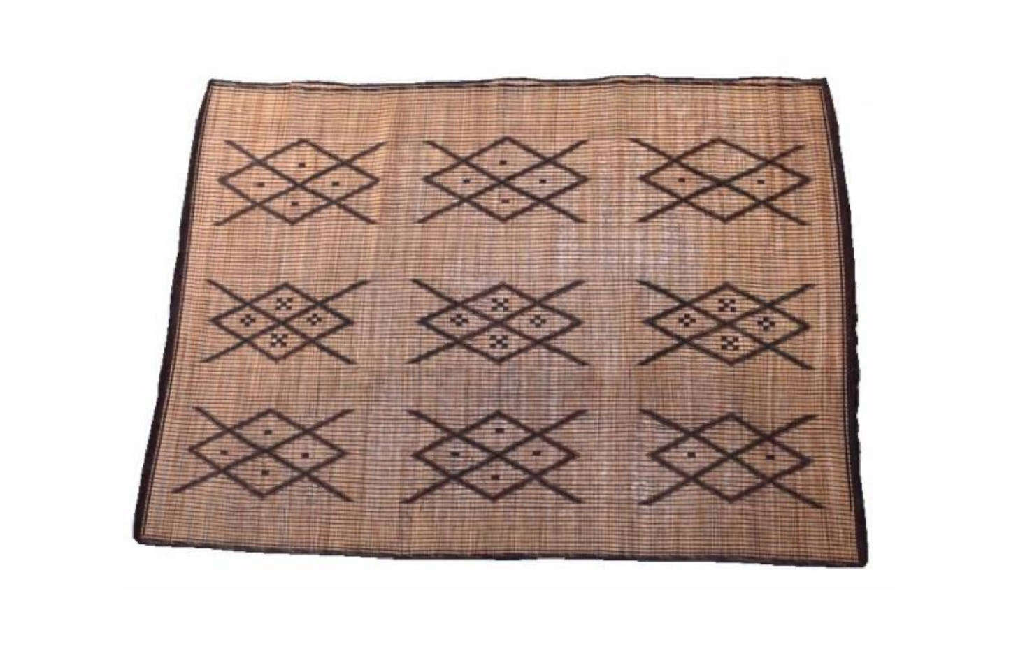 Katie purchased the Tuareg mat from Kulchi. From the website: &#8