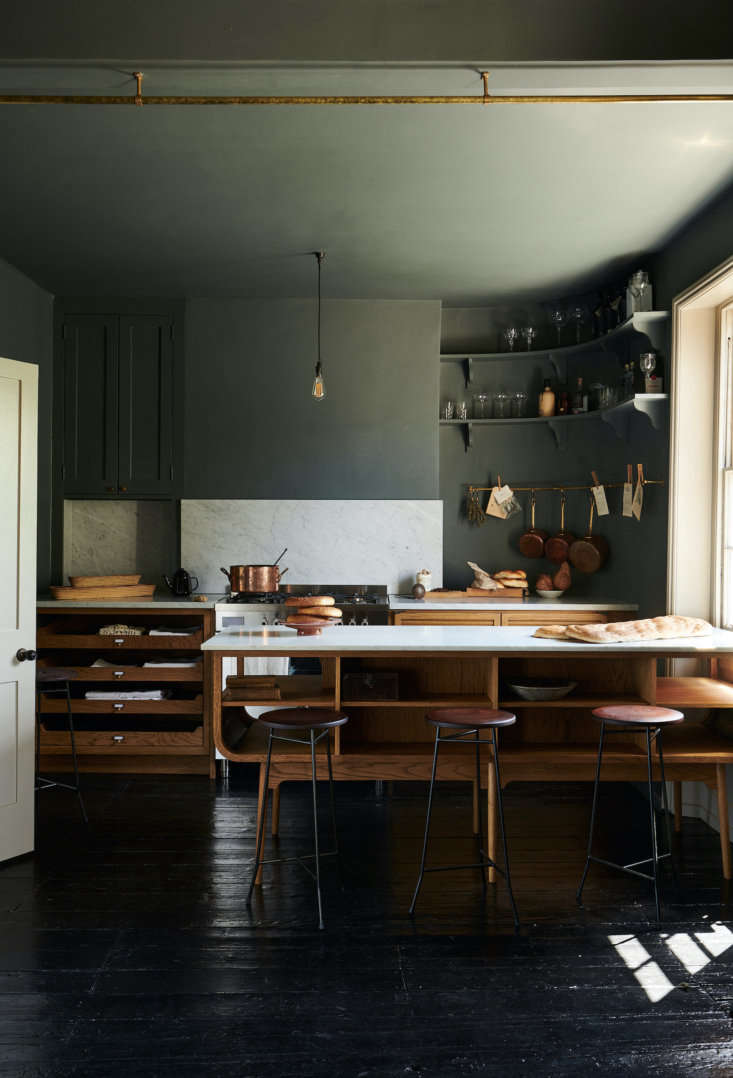This showroom kitchen is housed on the top floor of a Victorian townhouse and features the Haberdasher&#8