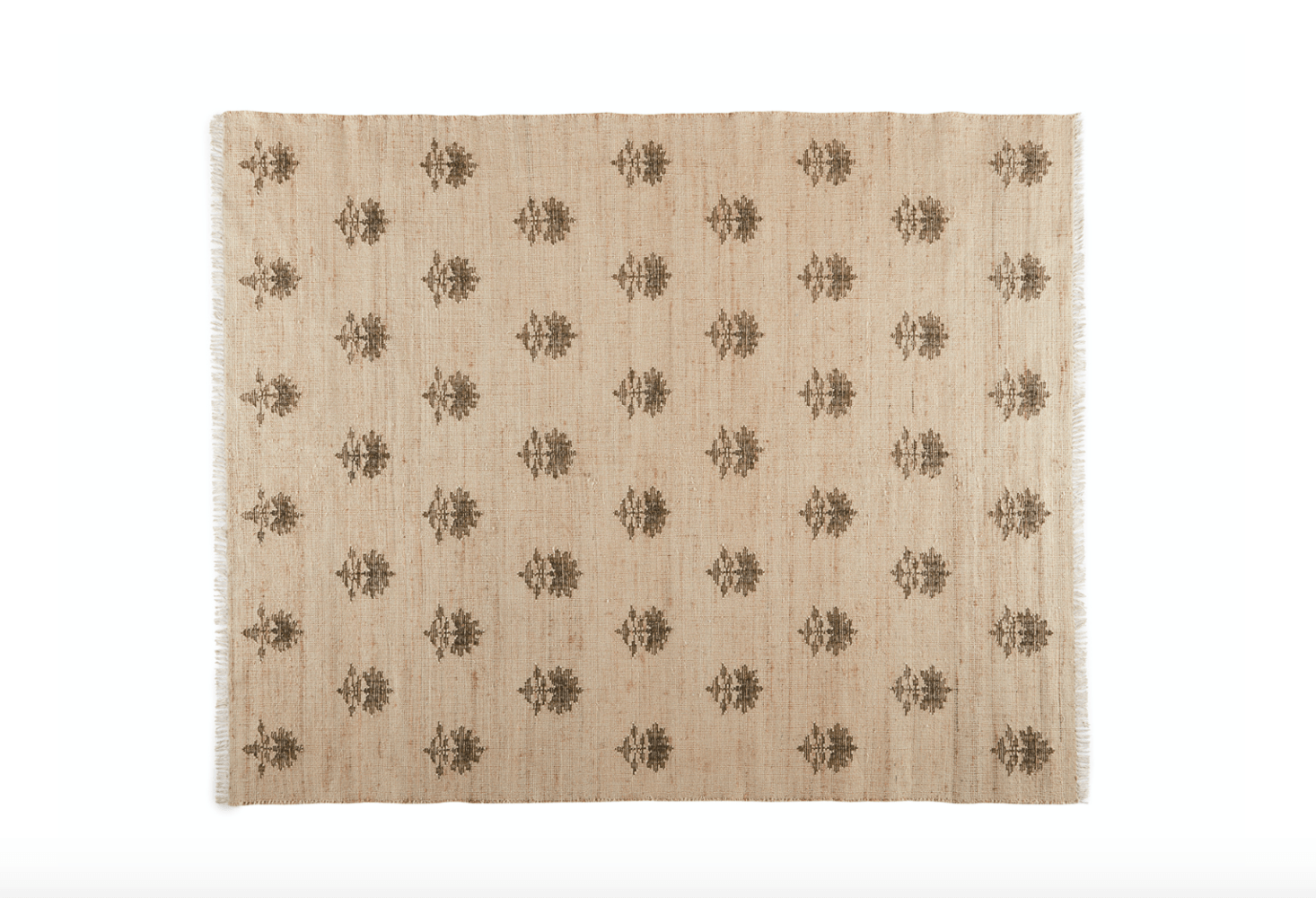 And the hand-knotted Disha Rug is one of four new rugs made in partnership with Obeetee, sustainable rug makers who use vegetable dyes and an energy-efficient water system, advocate for women weavers, and prioritize educational opportunities for the children of their craftspeople. The rug is made from jute, wool, and cotton and features a charmingly simple botanical design. It's available in three sizes, too.