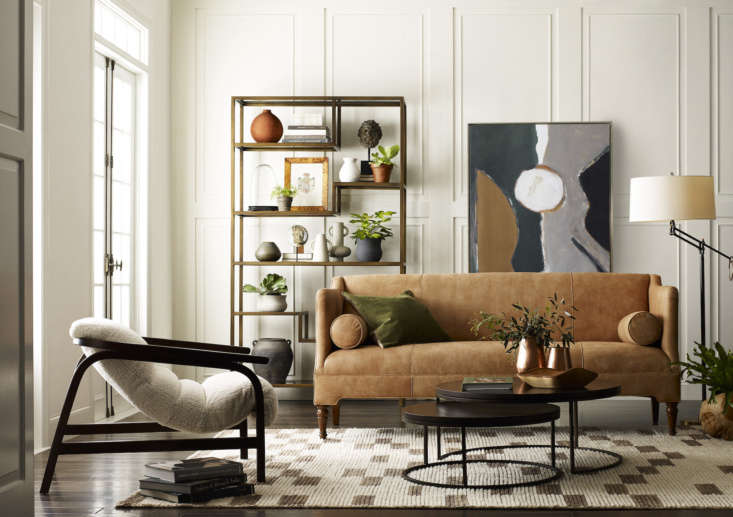 the artisan crafted, midcentury modern inspired dixon chair at left mixes a cle 10