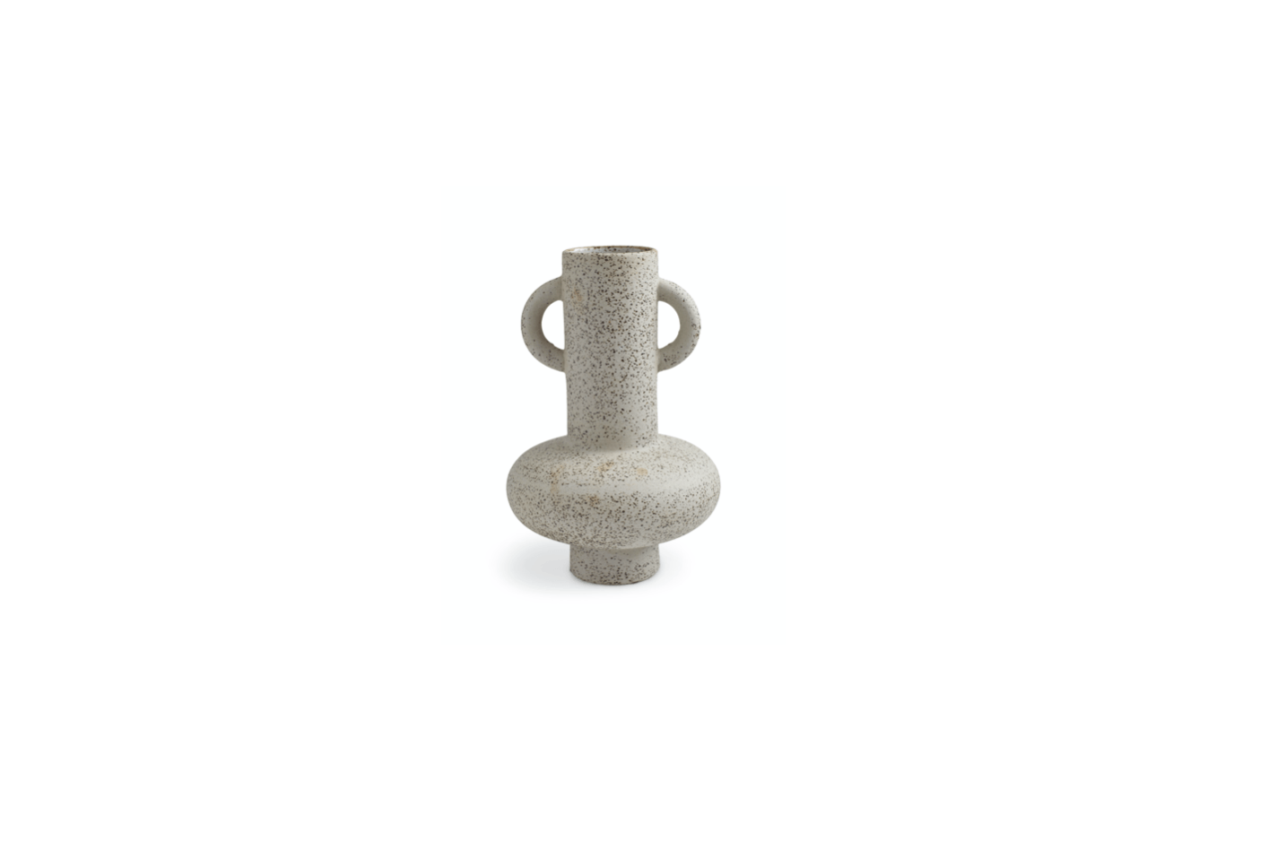 We like the sculptural ceramic Roux Vase (shown here in the large version), inspired by modernist shapes and earthy materials and perfect for a bouquet of fall flowers.