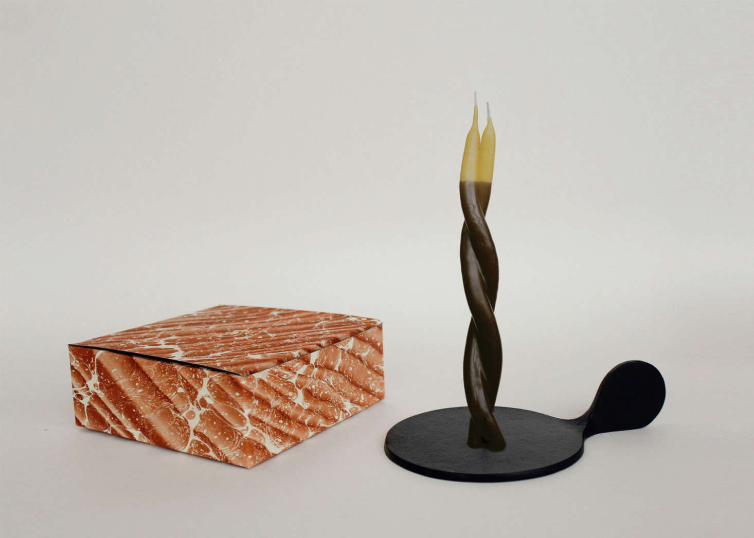 For the Double-Dipped Twisted Candle (£src=