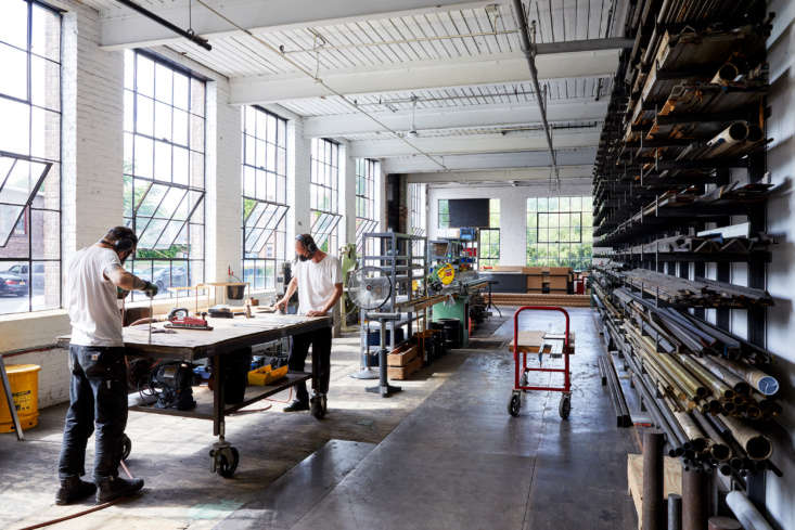 Industrial Revival Atlas Repurposes a 1920s Abandoned Factory into a Creative Hub &#8\2\20;Our metal shop is where we do &#8\2\16;dirty&#8\2\17; operations like cutting and grinding metal, and where we store metal stock,&#8\2\2\1; says Joseph.