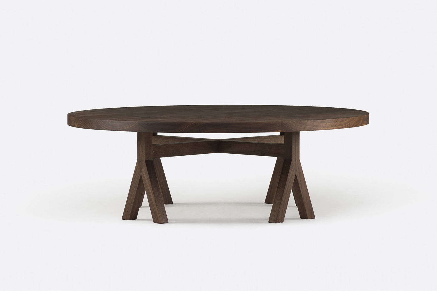 Designed by Commune, the Coffee Table, shown in Danish oiled walnut, is available through De La Espada. Contact for price and ordering information.