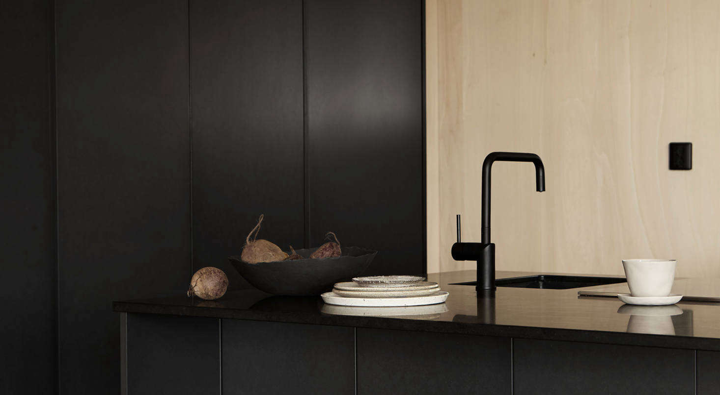 Both the faucets (note the different shapes) are from Tapwell.